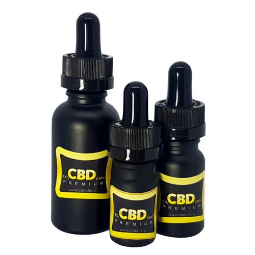 CBD CBDa premium olje
