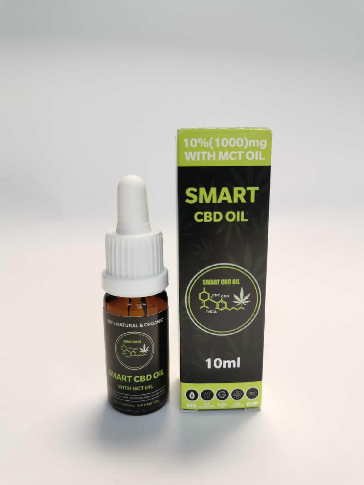 smart cbd olje 10% mct
